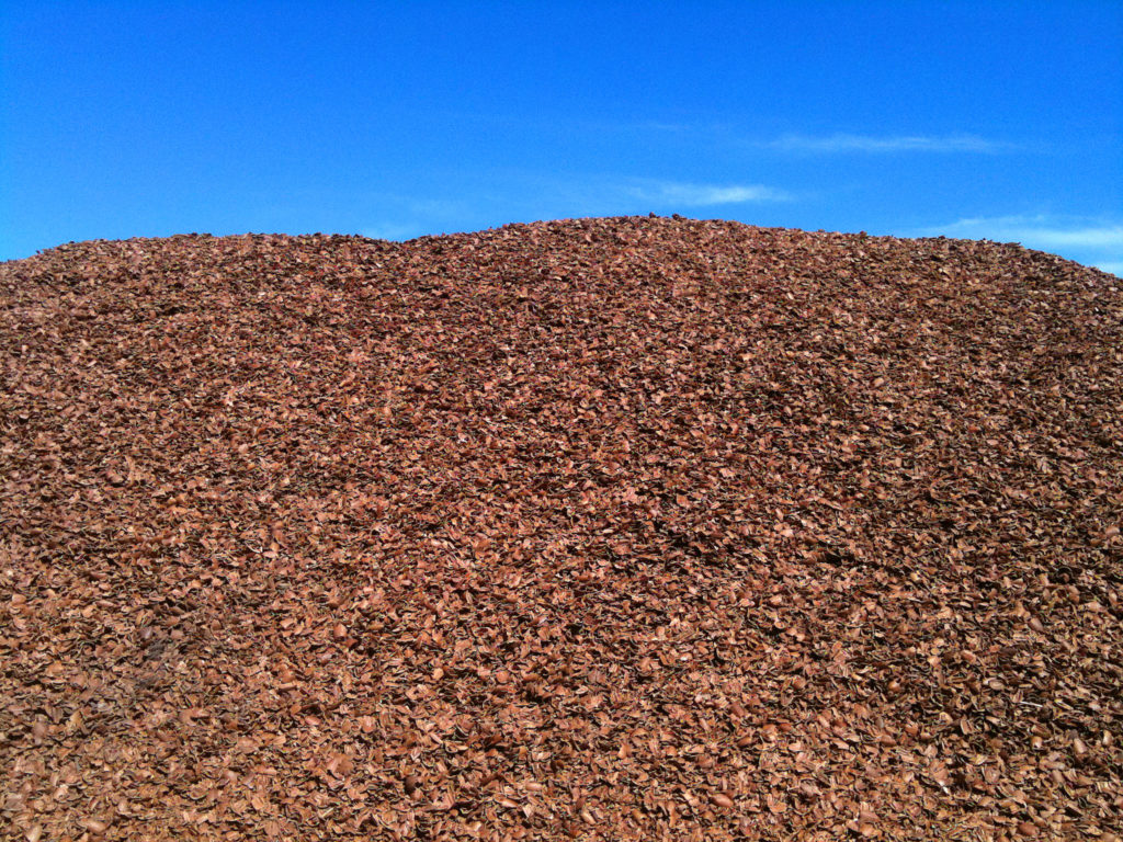 Pecan Shell Stockpile