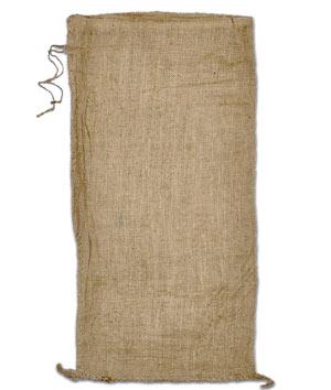 Empty Burlap Sand Bag