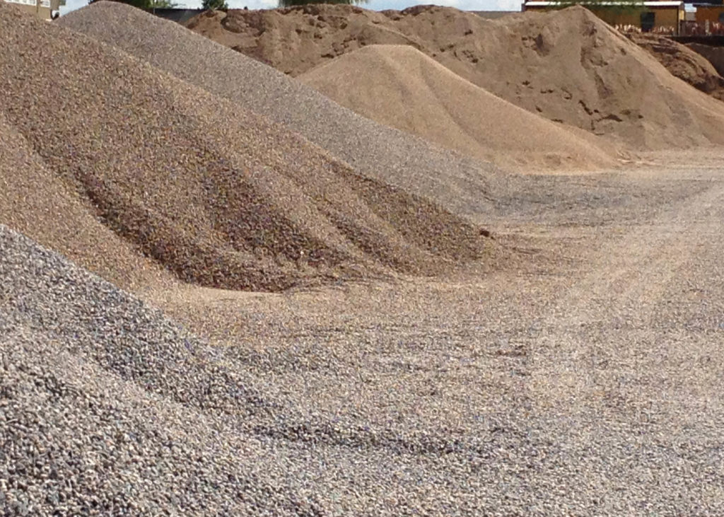 Sand And Gravel : Gravel types and sizes tucson acme sand