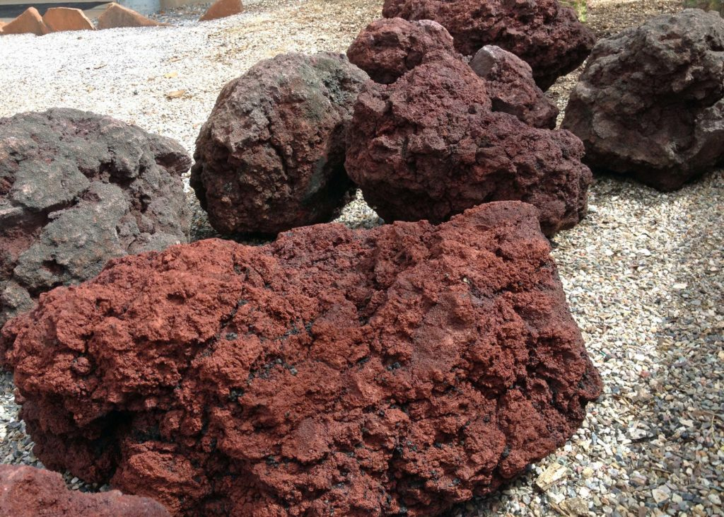 Large lava ls for sale colossus lava l for Brown lava rock for landscaping