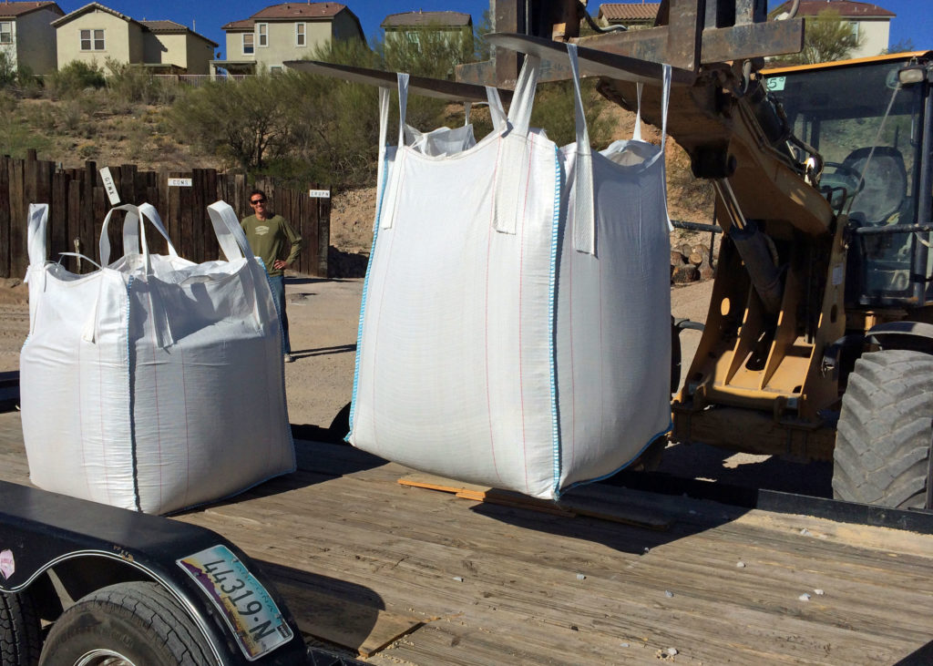 Water Totes Cubic Yard 64