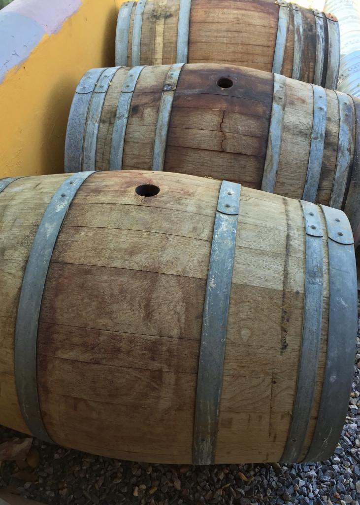 Wine Barrels sizes