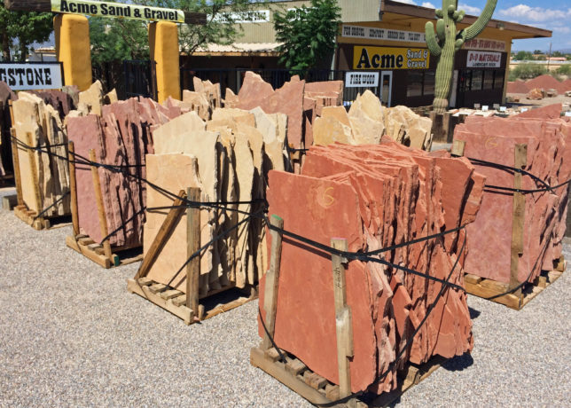 Acme sand gravel tucson landscape materials and supplies for Landscape gravel for sale