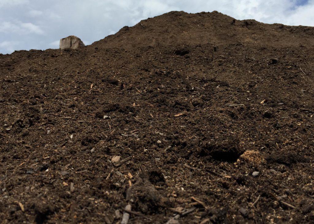 GPB-Garden Planting Blend stockpile
