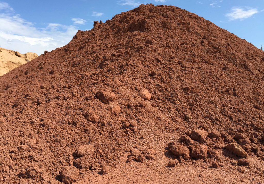 RDIFMX- Red Diamond Infield Mix stockpile