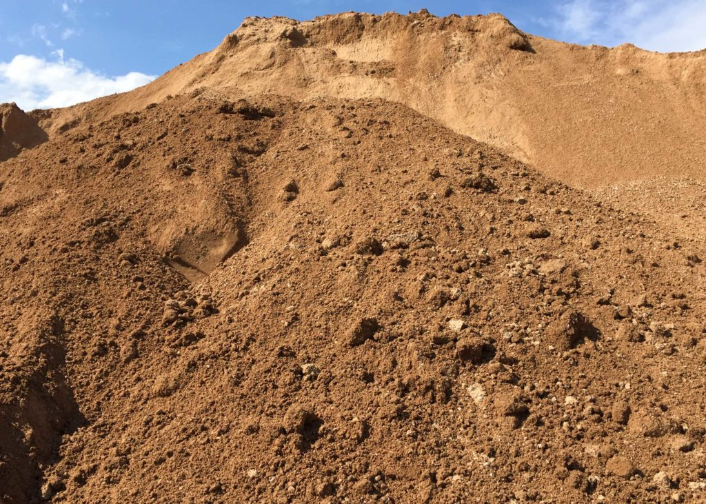 Fill soil acme sand gravel for Soil content