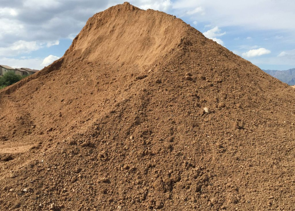 SCRFS-Screened Fill Soil stockpile
