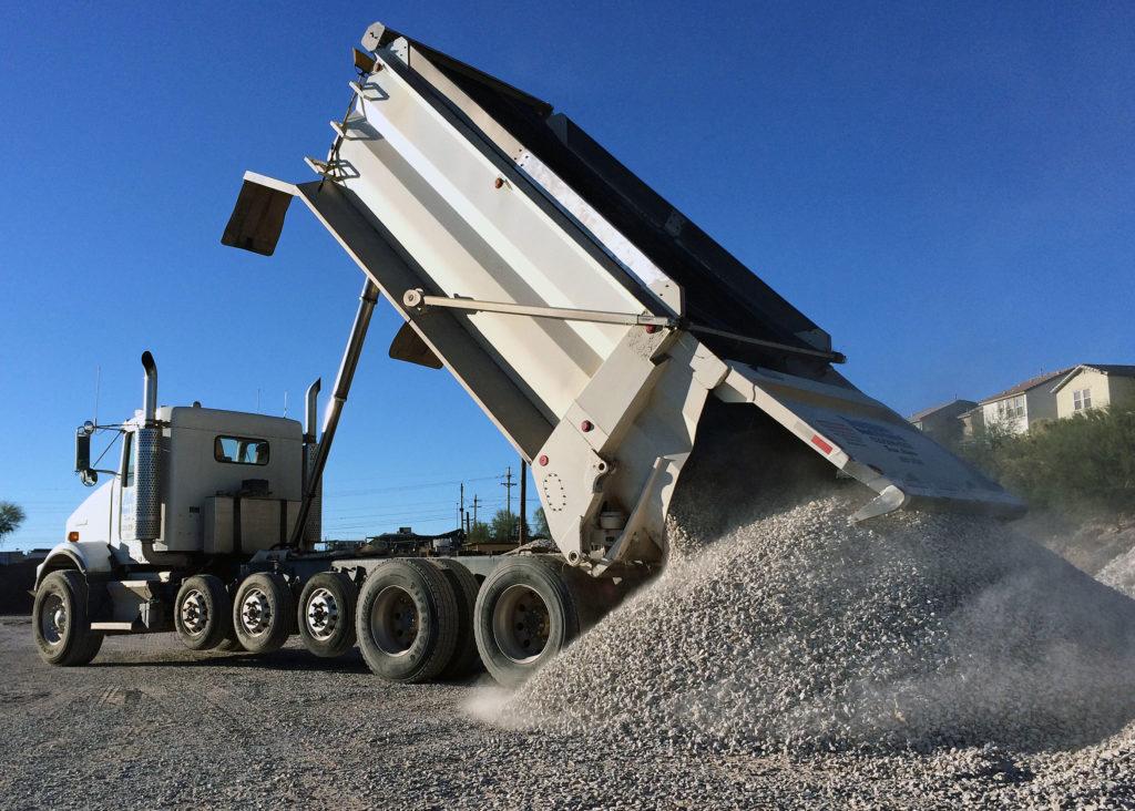 Kw Semi Load Dump Acme Sand Gravel